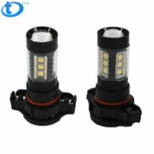 2504 Psx24W Led Fog Light Bulbs 75W 4000Lm 6000K White Super Bright 5730 33-Smd