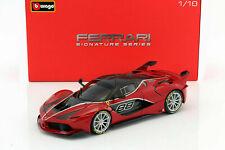 2015 Ferrari Fxx-k 88 Rojo-negro 1 18 Bburago Signature Series 16907