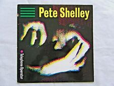 """Pete Shelley Telephone Operator Many A Time Remix 1983 Genetic 12"""" 45 RPM UK NM"""