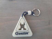 rare vintage genuine original authentic GAASTRA key chain key ring old plastic