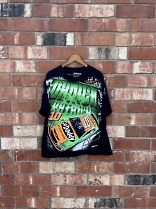 NASCAR Chase Authentics Danica Patrick All Over Print T Shirt XL Vintage