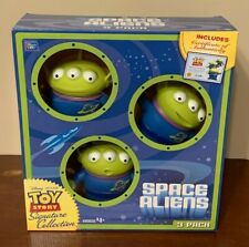 Thinkway Disney Toy Story Signature Collection Space Aliens, Brand New