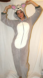 Womens,Mens 1Onesie1, Mouse all in one pyjama suit/fancy dress/book day