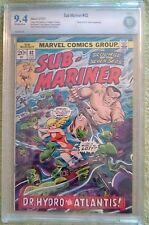 Sub-Mariner #62 (Jun 1973, Marvel) 9.4 NM CBCS (like CGC) Namorita