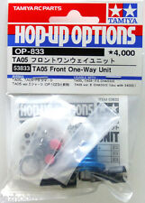Tamiya 53833 RC Car Front One Way Unit Set For TA-05 TA05-IFS/Ver.2/VDF OP833