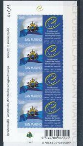 [33797] San Marino 2007 Good sheet 2x Very Fine MNH