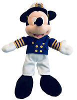 """Mickey Mouse Disney Cruise Lines Captain Plush Toy 11"""""""
