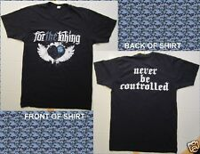 For The Taking Never Be Controlled Size Medium Black T-Shirt