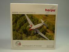 Herpa Wings Douglas DC-3, Herpa Miniaturmodelle - 75 Years Douglas DC-3 - 553803
