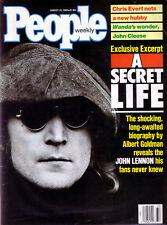PEOPLE Magazine : 08/88 : JOHN LENNON: A Secret Life !!! The Beatles Yoko Ono