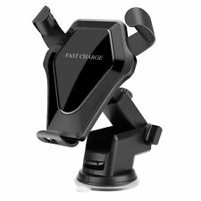 MORCOO iPhone x Fast Wireless Charger Car Qi Charging Stand Air Vent Suction Car
