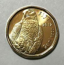 2012 Fiji 2 dollars, Peregrine Falcon, bird animal wildlife coin