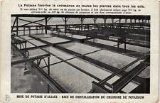 CPA  Mine de Potasse d'Alsace -Bacs de Cristallisation du Chlorure de...(659975)