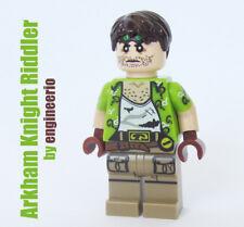 LEGO Custom -- Arkham Knight Riddler -- DC super heroes minifigures