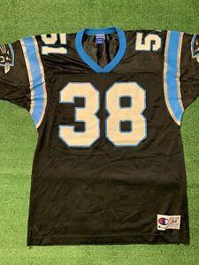 NFL VTG Carolina Panthers Sam Mills Misprint Champion Football Jersey Men's 44