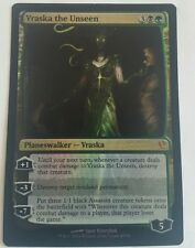 Magic the Gathering 4 x Vraska The Unseen  Duel Deck Foil playset unplayed