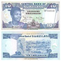 Swaziland 10 Emalangeni 2006  P-29c Banknotes UNC