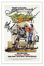 CAST - SMOKEY AND THE BANDIT SIGNED PHOTO PRINT AUTOGRAPH