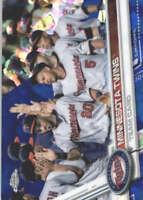 MINNESOTA TWINS 2017 TOPPS CHROME SAPPHIRE EDITION #304 ONLY 250 MADE