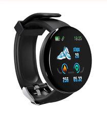 Smart Watch Blood Pressure Round Bluetooth Watch Waterproof Sport Tracker 2020