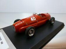 MG FIRENZE FERRARI 166 SC 1948 -  #40 - F1 RED 1:43 - VERY GOOD on BASE