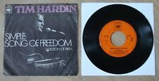 Tim Hardin Simple song of freedom - 1970 CBS Dutch