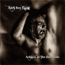 ANDI SEX GANG (Sex Gang Children) Achilles In The Eurozone SIGNED, NUMBERED goth