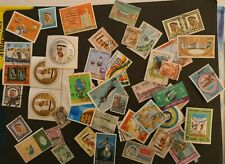 Kuwait stamp collection ,mixed lot mainly used ,with some  MINT