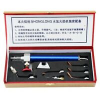 1X(Jewelry Tool Water Oxygen Welding Torch With 5 Tips Jewelry Hydrogen EquX7A3)