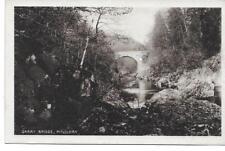 Pitlochry. Garry Bridge-Orig.U/U RPPC-(Pub.L.Mackay,Pitlochry)- Mint