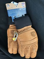 NWT Hestra Alpine Pro Leather Fall Line Gloves Size 8 Medium Unisex
