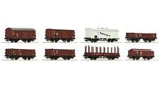 Roco 44003 8-teiliges Set Güterwagen der DRG *Neu*
