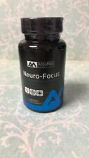 AccuMed Nutrition Neuro-Focus For Cognitive and Memory Enhancement 60 Caps 6/19