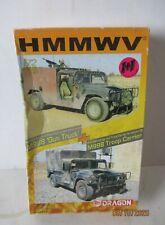 """Dragon 1:72 HMMWV M998 """"Gun Truck"""" + M998 Troop Carrier"""