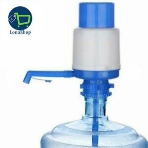 Dispensador De Agua Potable Manual Para 5 o 6 Galones Garrafon Bomba Prensa