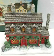 Lang And Wise Folk Art Villages Christmas Tea Shop 20010402 1996 First Edition