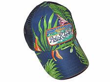 61c4745e Polo Ralph Lauren Patch Baseball Trucker Hat Adjustable Strapback Hawaiian
