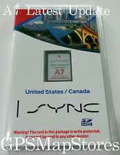 2014 2015 Ford Fiesta Transit Lincoln MKZ Navigation SD Card U.S CAN Map A7