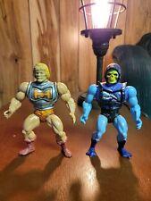 Battle Damage He-man and Skeletor