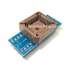 Alta Calidad USB Universal Plcc 32 DIP32-PLCC 32 de vuelta Adaptador de prueba Programador IC