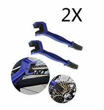 2 x  Portable Cycling Motorcycle Chain Cleaning Tool Gear Grunge Brush Cleaner
