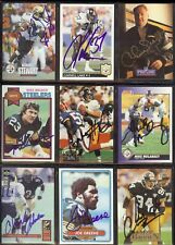 CHUCK NOLL 1991 Pro Line *DECEASED* Steelers AUTOGRAPH / SIGNED in Gold Ink Card
