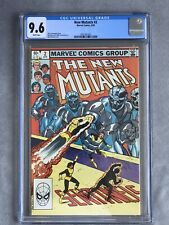 New Mutants # 2 CGC 9.6 🔥White Pages🔥Only 34 Exist At 9.6 (Marvel April 1983)