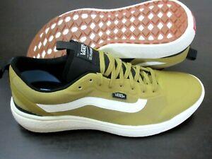 Vans Men's UltraRange Exo Skate Trail shoes Dijon Antique White Size 10 NWT