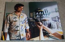 WAGNER MOURA SIGNED AUTOGRAPH NARCOS 11x14 PHOTO D w/EXACT PROOF PABLO ESCOBAR