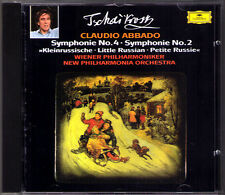Claudio credesse: Tchaikovsky Symphony No. 2 & 4 Ciaikosky PDO CD Little Russian