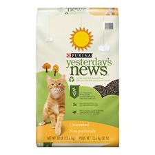 Purina Yesterdays News Unscented Paper Cat Litter 30 lb. Bag