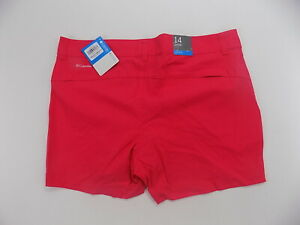 Columbia Women's Saturday Trail Short active hiking shorts  red size 8
