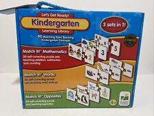 The Kindergarten Learning Library 3 sets in 1 Children Learning Books NEW
