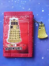 DALEK WALLET PURSE COIN MONEY VINTAGE RETRO DOCTOR WHO ADVENTURES MAGAZINE